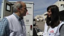LIVE μετάδοση των Γιατρών Χωρίς Σύνορα από το Ελληνικό