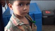 Με κινητές μονάδες δίπλα στους εκτοπισμένους στη Συρία