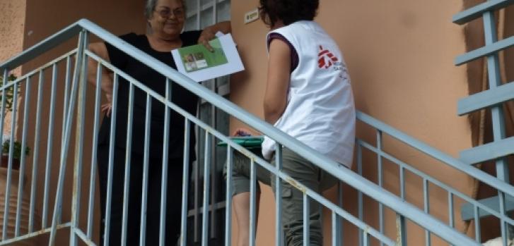 Ελλάδα: Οι Γιατροί Χωρίς Σύνορα λειτουργούν πρόγραμμα ελονοσίας νότια της χώρας