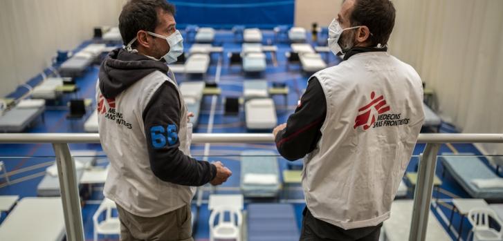 Ισπανία Κλιμάκωση δράσεων COVID-19