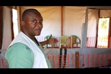 Κονγκό: Ξενάγηση στο θεραπευτικό κέντρο Έμπολα