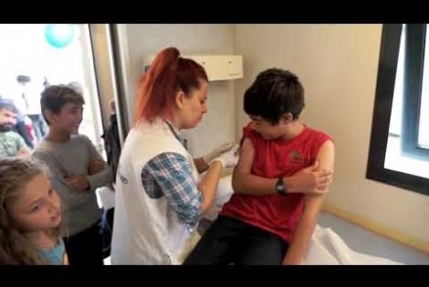 Εκστρατεία εμβολιασμού στη Χίο