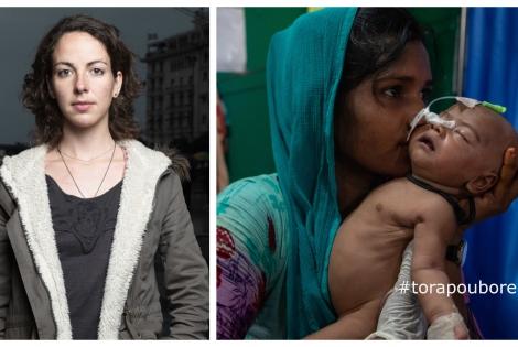 Δάφνη Τόλη_η φωτογράφος της καμπάνιας των Γιατρών χωρίς Σύνορα