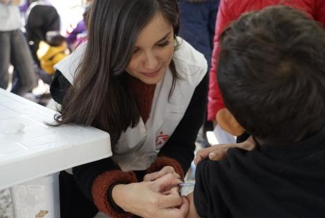 Εμβολιασμός στη Μόρια
