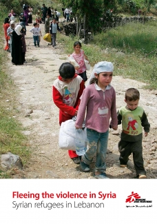 Fleeing the violence in Syria, Syrian refugees in Lebanon